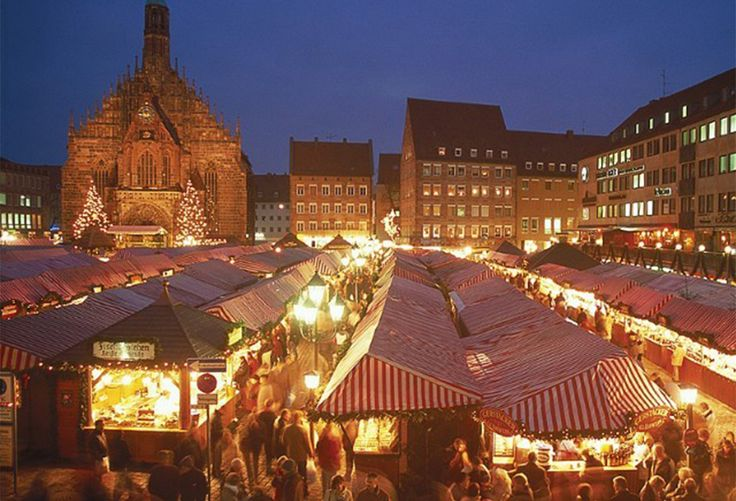 Harrogate Christmas Market selling high quality local produce and gifts.