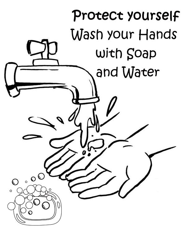Free Hand Washing Coloring Pages For Preschoolers Kids Activities Kindergarten Worksheets Hand Washing Free Activities For Kids