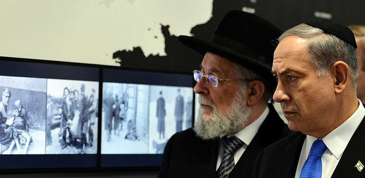 Former Chief Rabbi Of Israel: Assad's War In Syria Is A 'Holocaust'