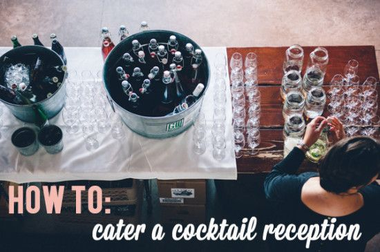 Self Catering Your Wedding: The Cocktail Party Edition (this blog is incredible)