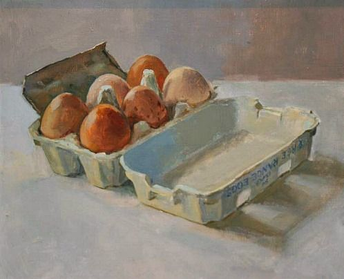 Maeve McCarthy - Half a Dozen  I really like simplicity and beauty of this painting!