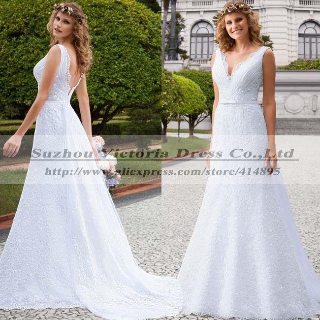 Свадебные платья Noiva эм ренда спинки свадебное платье кружева в стиле кантри свадебные платья Vestido Noiva Casamento одеяние мантия-де-mariage