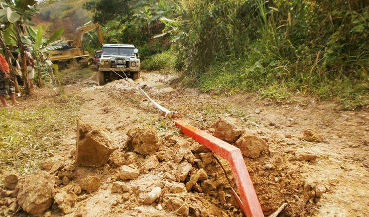 Как вытащить автомобиль из любой грязи