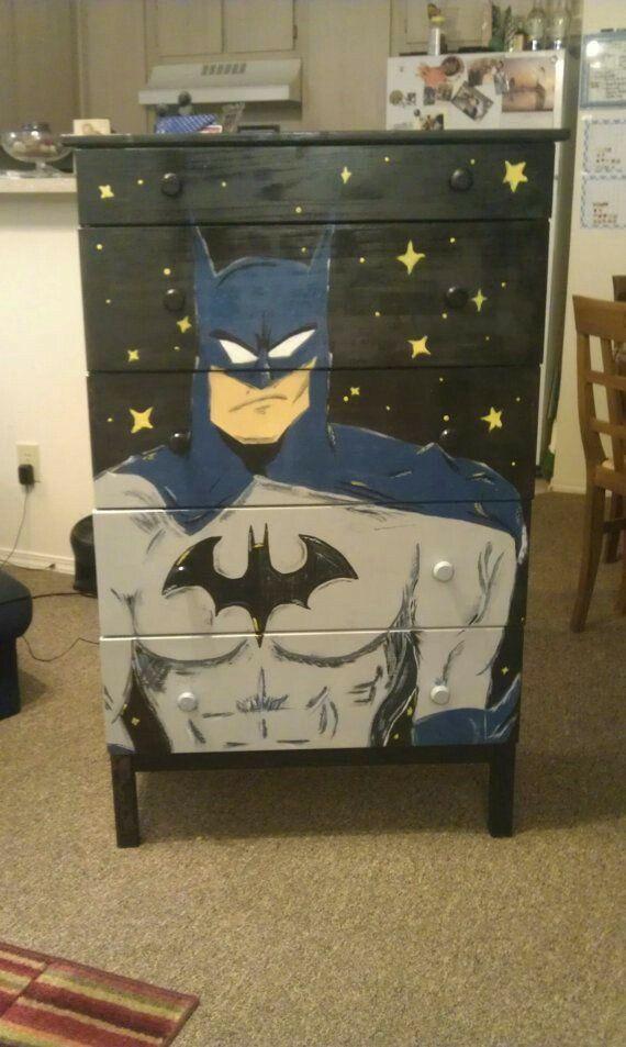 Batman inspired but not art history