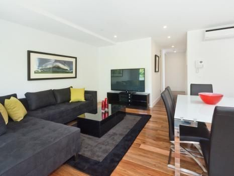 102/60-62 Broadway, Elwood, Melbourne. This stunning Elwood apartment offers a large open plan living and dining area, with quality finishes throughout, including marble benches and oak flooring. It includes undercover security parking and security entrance.