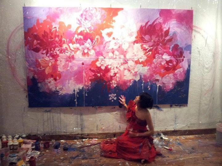 神田サオリ - Saori Kanda - Painting Artist.   http://www.saorian.com/cn9/top_index.html