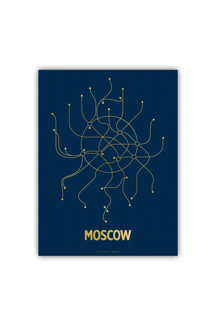 Line Posters Moscow 18