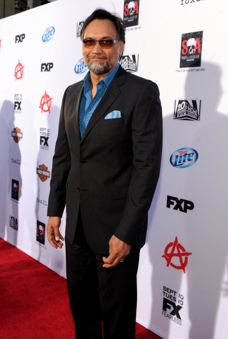 """Jimmy Smits arrives at FX's """"Sons of Anarchy"""" Season 6 Premiere Screening and Party. #SOAFX"""