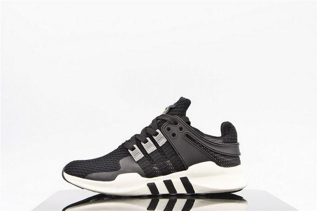 watch d0c74 f2e07 adidas EQT running 93 Primeknit Black White B35718 Mens Womans Running shoes
