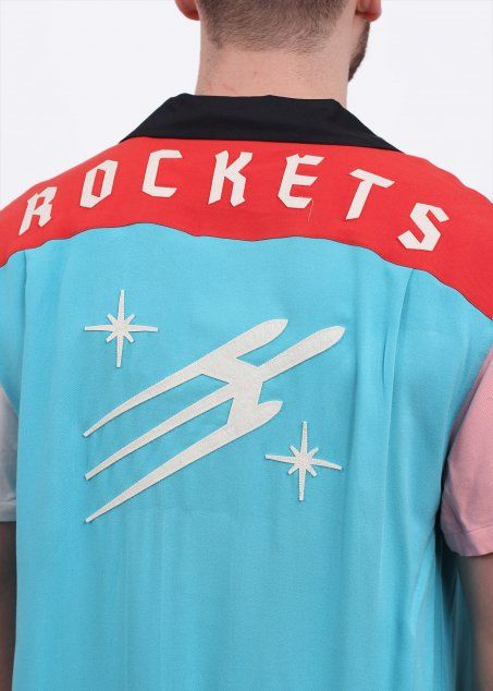 Levi's Rockets Bowling Shirt - Multi Coloured