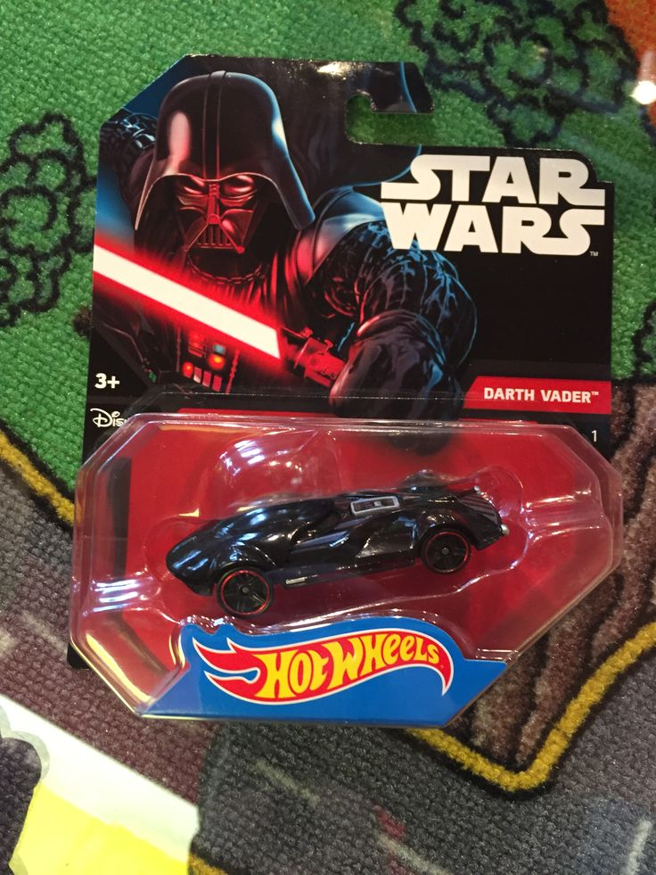 Hot wheels Star wars, Darth Vader, 7.99$. Disponible dans la boutique St-Sauveur (Laurentides) Boîte à Surprises, ou en ligne sur www.laboiteasurprisesdenicolas.ca sur notre catalogue de jouets en ligne, Livraison possible dans tout le Québec($) 450-240-0007 info@laboiteasurprisesdenicolas.ca