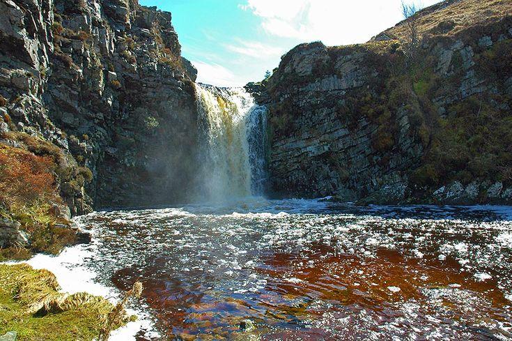 Waterfall near Loch Tarbert, Isle of Jura
