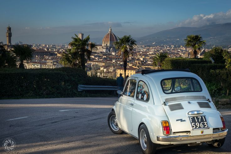 Made in Italy (Fiat 500 at Piazzale Michelangelo)
