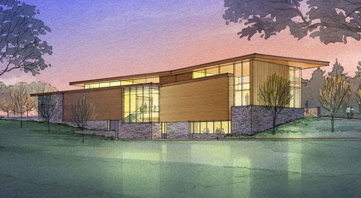 AECCafe.com - ArchShowcase - Shelburne Museum, Center for Art and Education in Vermont by Ann Beha Architects