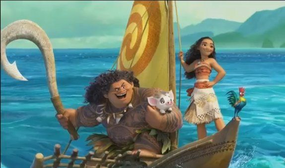 Prima clip video di MOANA il cartone animato Disney che in Italia si chiamerà OCEANIA