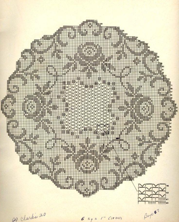 serwetka - szydełko - filet /// Adfseddi