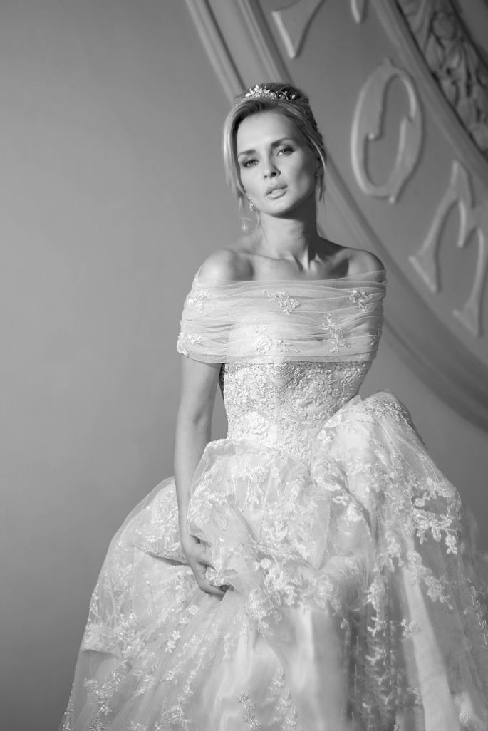 Beautiful Best of Brit Our Favorite British Wedding Dress Designers Ian Stuart