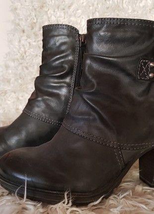 Kaufe meinen Artikel bei #Kleiderkreisel http://www.kleiderkreisel.de/damenschuhe/stiefelette/160955501-schwarze-bootsstiefeletten-von-tamaris