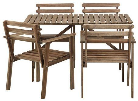 Металлические стулья Икеа : Кухни на улице икеа новости для весны кухней