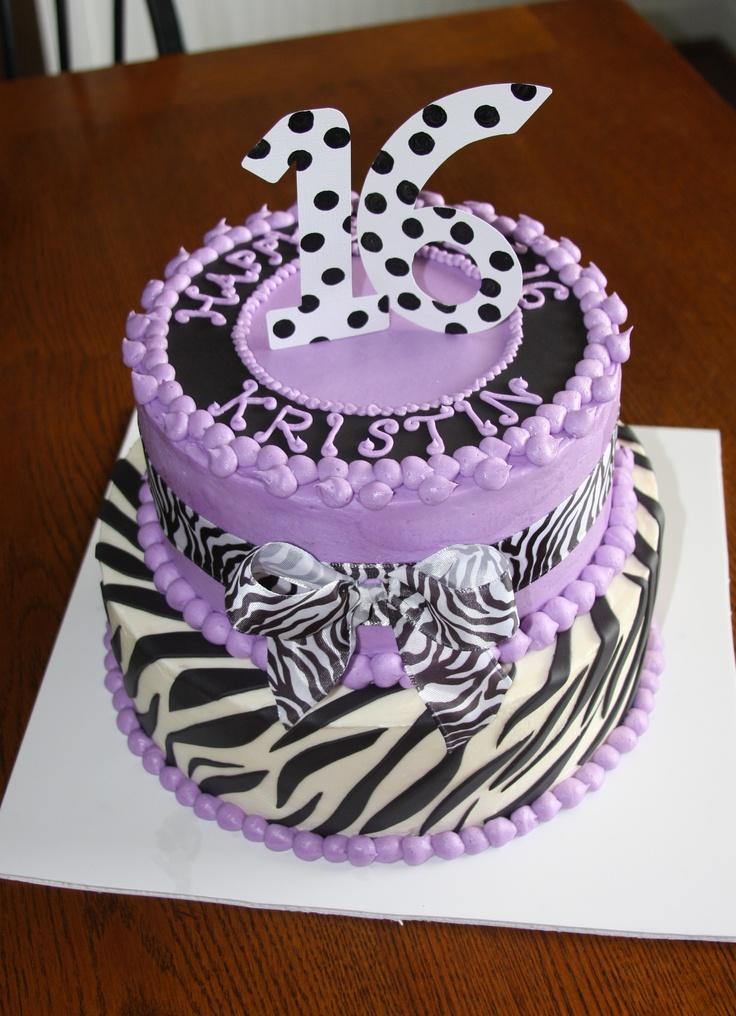 Sweet 16 Cake My Cakes Cake Sweet 16 Birthday Cake