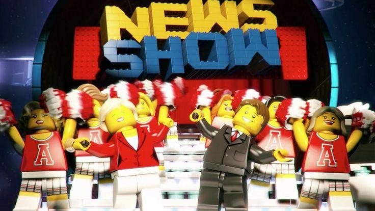 Sunucu Dan Brickman ile LEGO ''Haber Şovu'' Tanıtımı (Lego News Show) #lego