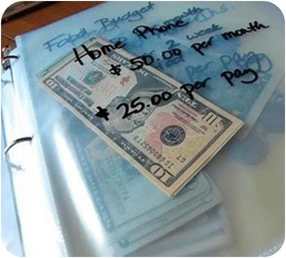 Someone pinned thispicture on Pinterestof them dividing their money into different envelops as suggested by financial expert, DaveRamsey.His explanationof the envelope system was simple and ma…