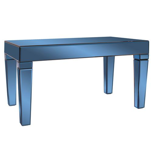 Dorset Cobalt Blue Coffee Table Howard Elliott Collection Cocktail/Coffee Tables Accent Ta