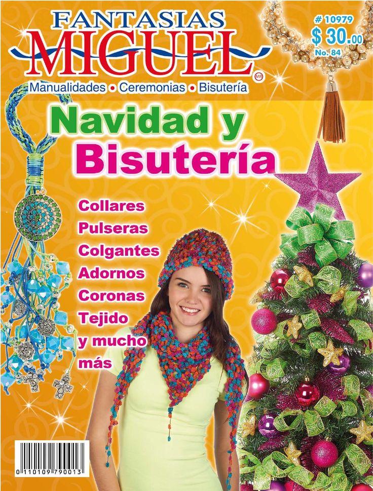 Revista 84 Navidad  Fantasias Miguel