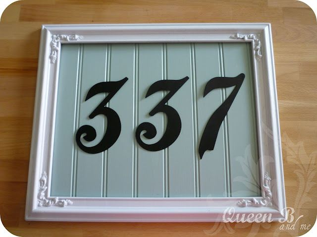 Best 25 Address numbers ideas on Pinterest Diy house numbers