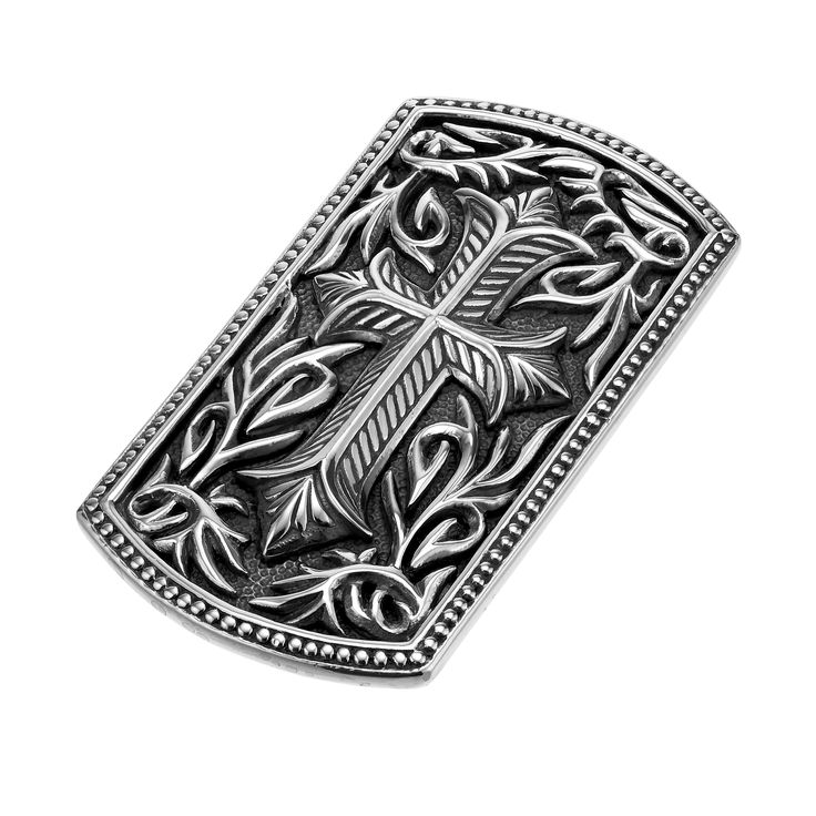 Day #12 Feature: Gentlemen, hold your cash in style with this Scott Kay engraved cross money clip, Style #MC2585SPL. Win one of $25,000 worth of Scott Kay fashion jewelry pieces! Enter at www.stevepadisjewelry.com/scottkay31days #31daysofscottkay