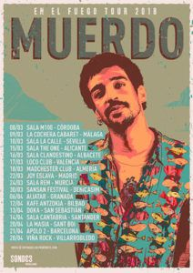 Muerdo prepara una extensa gira por España