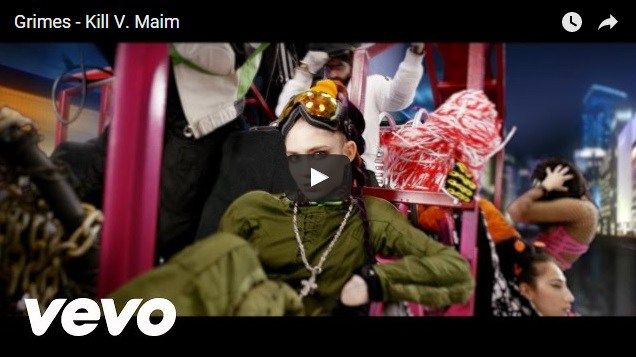 Check Out the New Kill V. Maim Video From Grimes