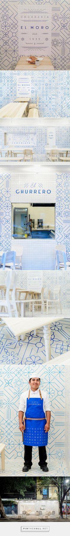 Cadena y Asociados invade la churrería 'El Moro' | Domestika... - a grouped images picture - Pin Them All