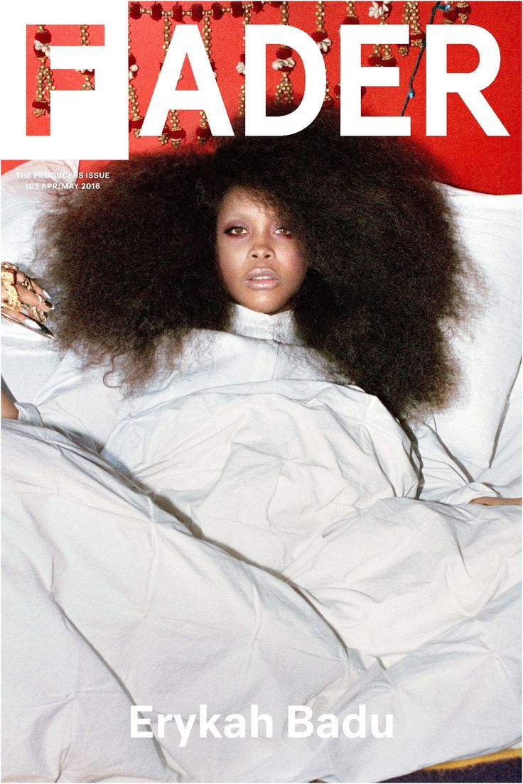 "Get this, 20"" x 30"", Erykah Badu poster featuring the cover artwork of The FADER Issue 103. *Please note: order will be processed immediately upon receipt, we will not be able to cancel or change your"
