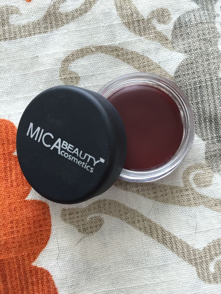 NEW ... Mica Cosmetics tinted lip balm in velvet rose