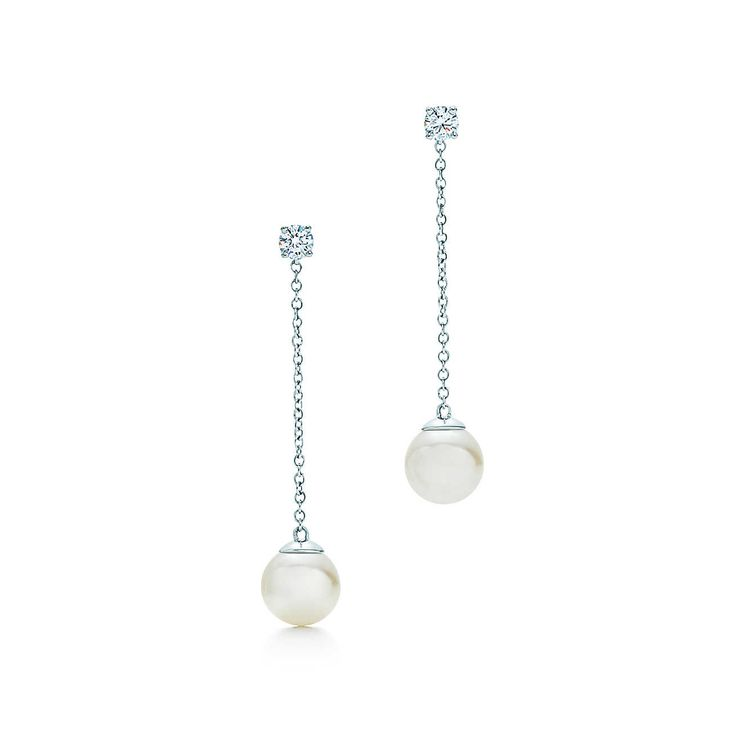 Tiffany Signature™:Pearl Drop Earrings