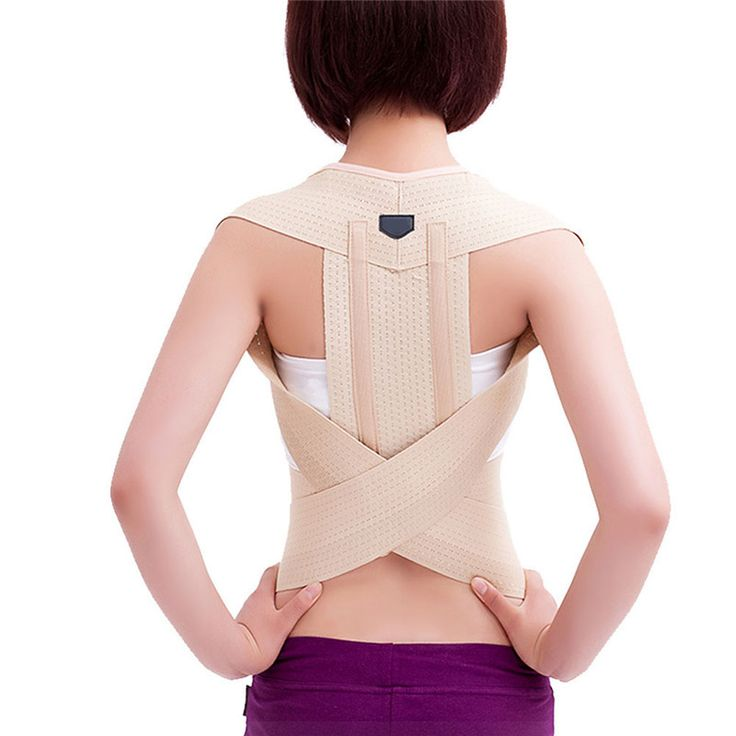 Correzione della postura Della Vita Petto Spalla Back Support Brace Corrector Cintura per le Donne Degli Uomini Taglia S/M/L/XL