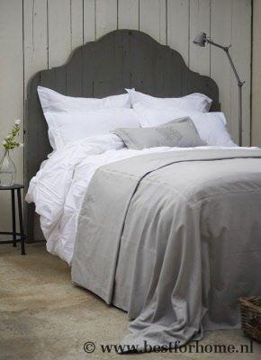 Stoer Houten Bed Hoofdbord Sober Landelijk | BFH009