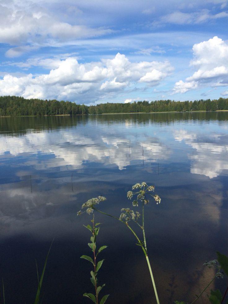 Lake Iso-Ruhmas Jaala Finland