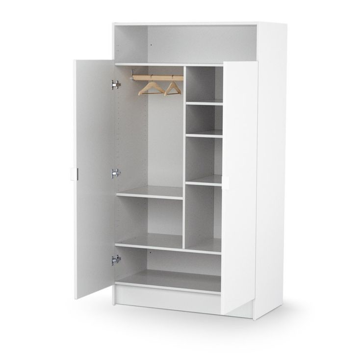 Armoire Enfant Spacieuse Blanche In 2020 Tall Cabinet Storage White Buffet Storage Cabinet