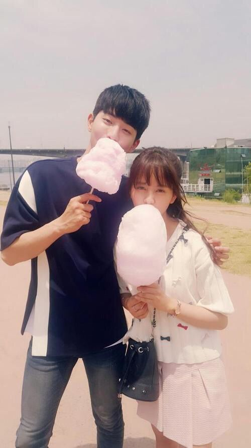 Nam Joo Hyuk and Kim So Hyun