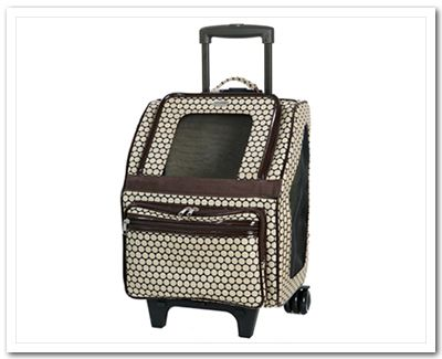 Rio Airline Pet Carrier on Wheels