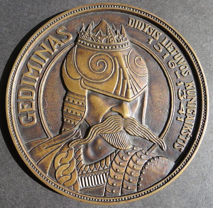 Gediminas Grand Duke of Lithuania, P.Rimsa 1923