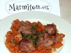 Sot-l'y-laisse de dinde façon tajine - Recette de cuisine Marmiton : une recette