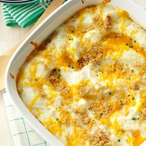 Party Potatoes Recipe from Taste of Home