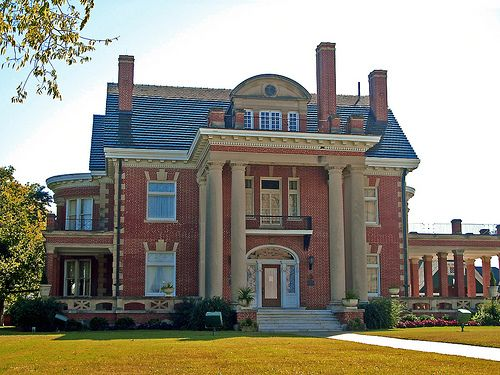 Thistle Hill mansion. Fort Worth, Texas. Open for tours.