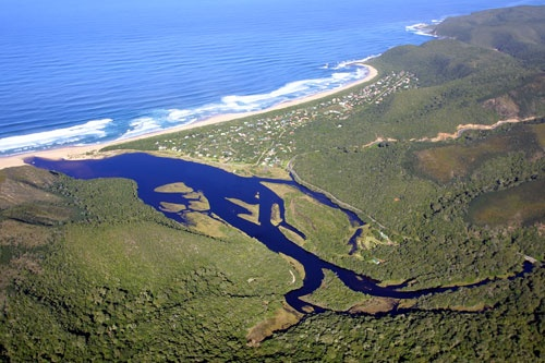 GROOTRIVIER ESTUARY - Nature's Valley, South Africa. - Explore the World with Travel Nerd Nici, one Country at a Time. http://TravelNerdNici.com