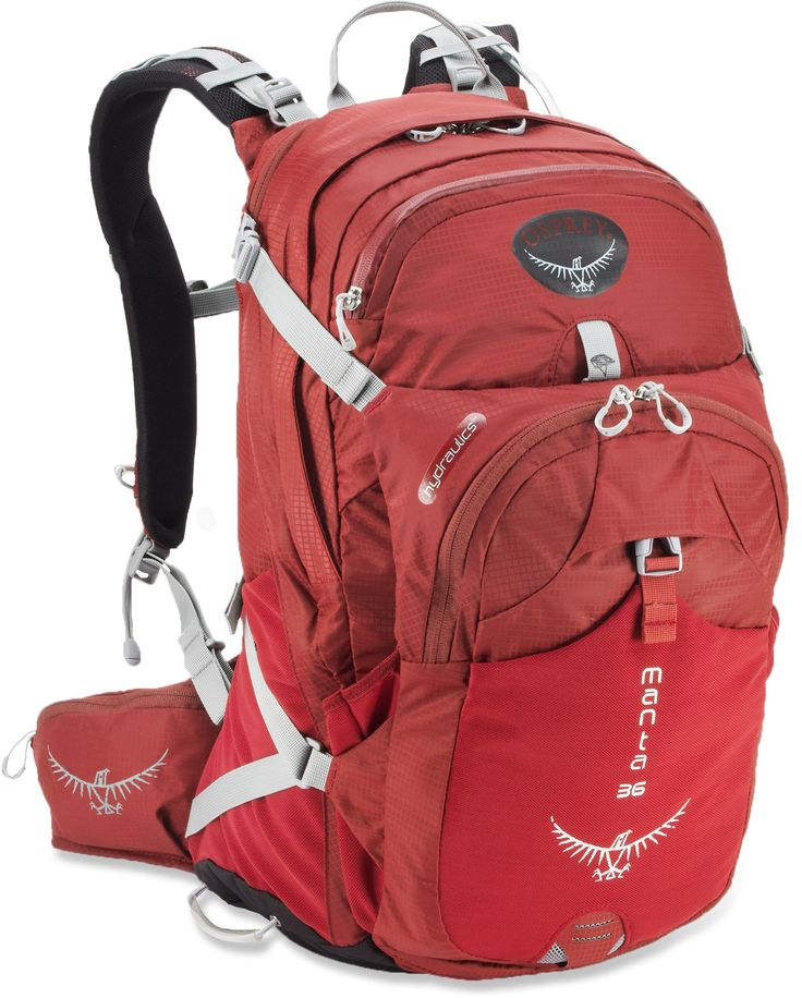 Stay hydrated on the trails with a backpack that doubles as a water pack. #endorsed