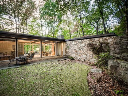 openhouse : hidden masterpiece : architecture for sale : Pitcairn house by Richard Neutra : Pennsylvania