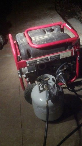 Convert a gasoline generator to dual use (propane/gasoline)